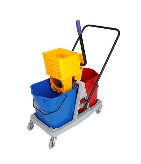 Mopping Trolley Dble & Wringer
