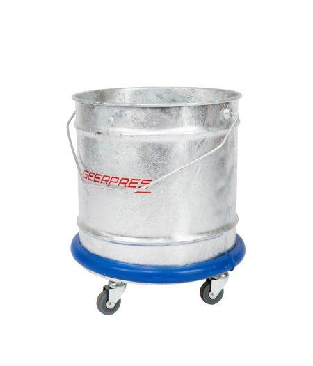 Galv. Bucket on Castors