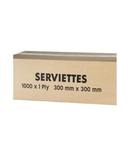 Serviettes 1 Ply 300x300