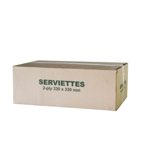 Serviettes 2 Ply 330x330